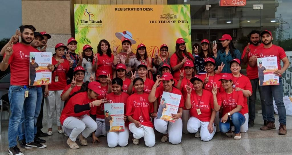 Touch Clinic Organised a Walkathon for women awareness