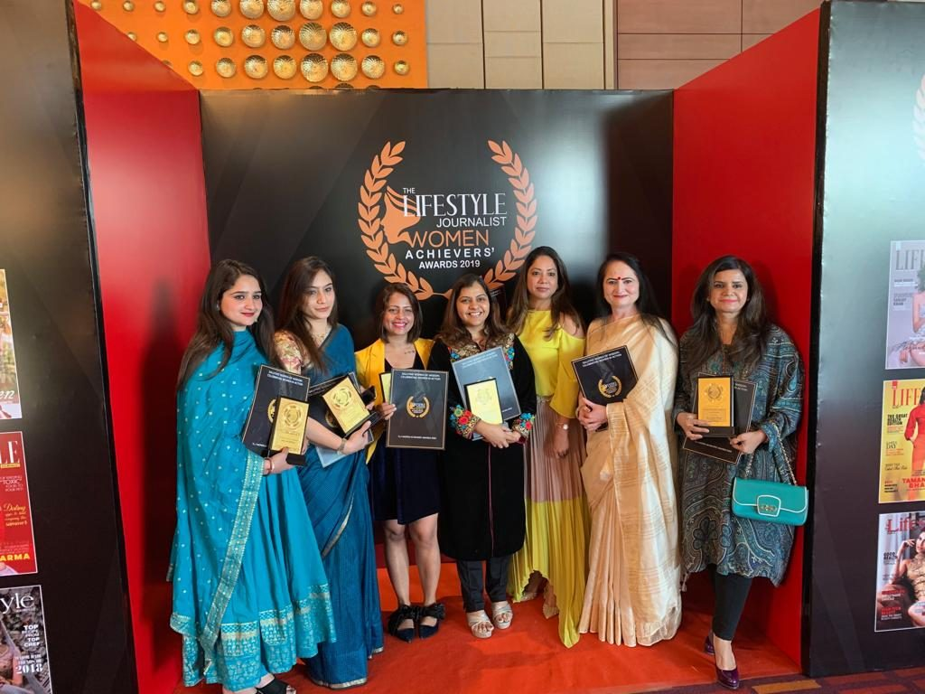 Received Women's Achievers Award 2019