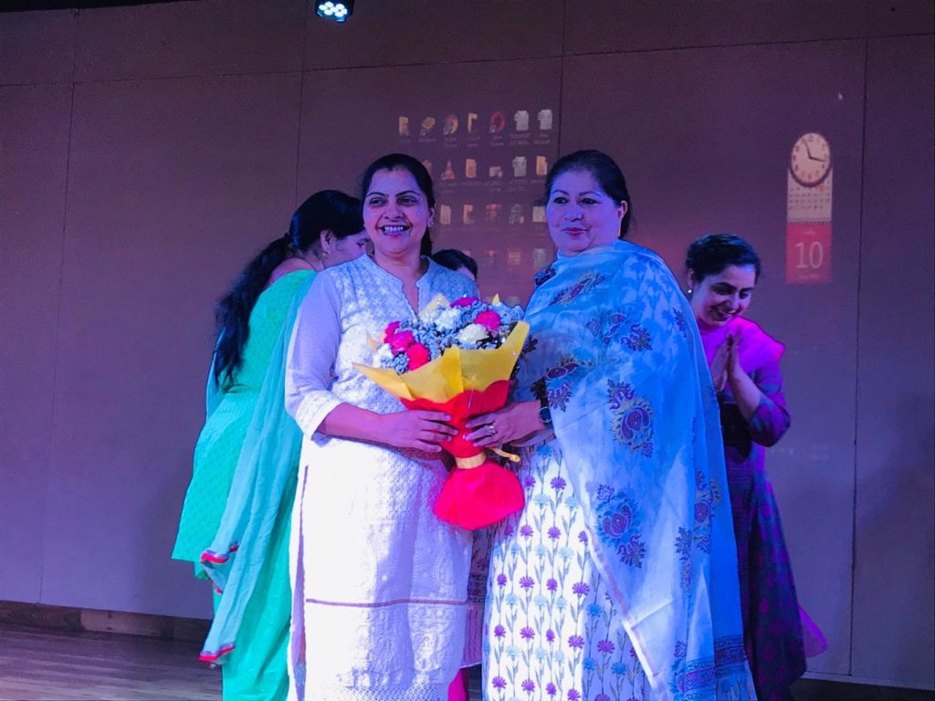Mothers Day talk by Dr. Preeti Jindal Jindal in Saupin's School Chandigarh